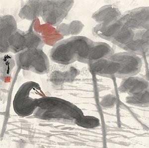 花鸟 by zhou shaohua