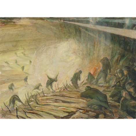 wwi battlefield by riccardo chicco