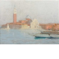 venice by charles hoffbauer