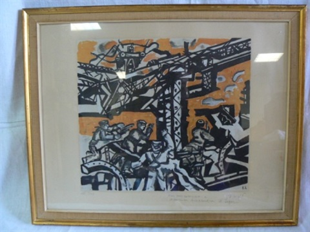 hommage à stalingrad by fernand léger