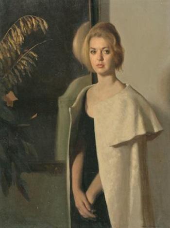 A southern lady by Nelson Shanks on artnet