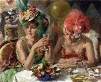 new year's ball by philippe de rougemont