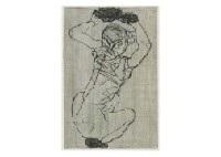 kauernde crouching woman by egon schiele