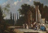 vertumnus und pomona by johannes (jan) glauber