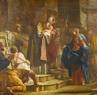 the presentation in the temple by giovanni battista crosato