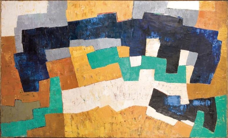 composition abstraite by andré lucien albert bloc
