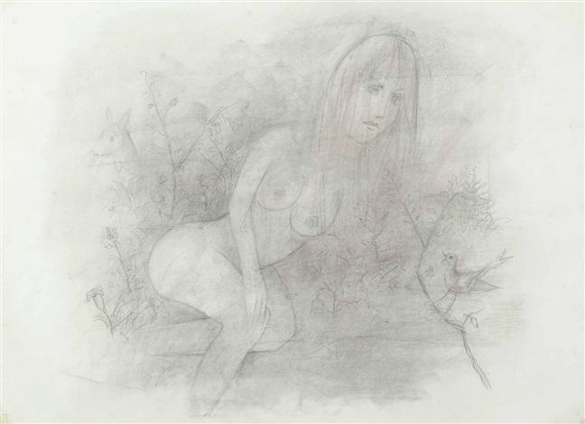 weiblicher akt in der natur by robert angerhofer