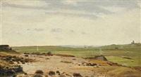 jysk landskab med vid udsigt by hans ludvig smidth