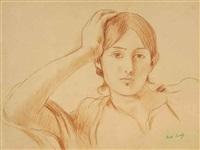 portrait de jeanne pontillon by berthe morisot