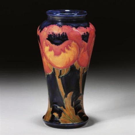 Big Poppy Vase By Clarice Cliff Moorcroft On Artnet