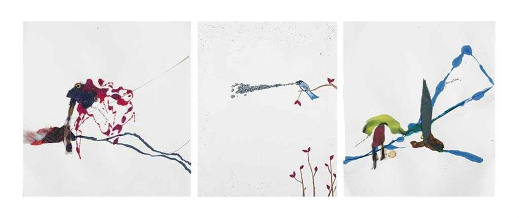 blue jays for blue days (3 works) by jon pylypchuk