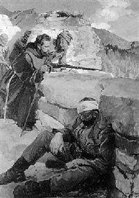 kapuziner im schützengraben bei folgaria by john quincy adams