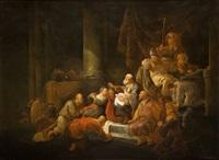 presentación de jesús en el templo by benjamin gerritsz cuyp