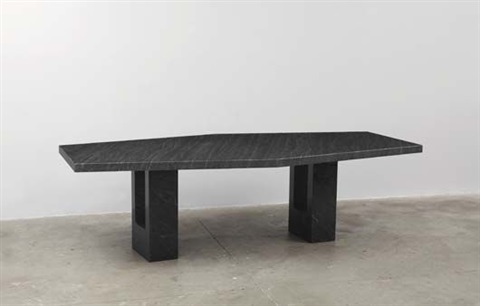 dining table from the armstrong rubber company headquarters new haven connecticut by marcel breuer