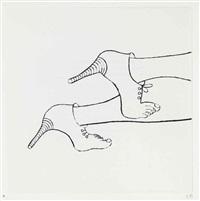 metamorfosis (portfolio w/5 works) by louise bourgeois