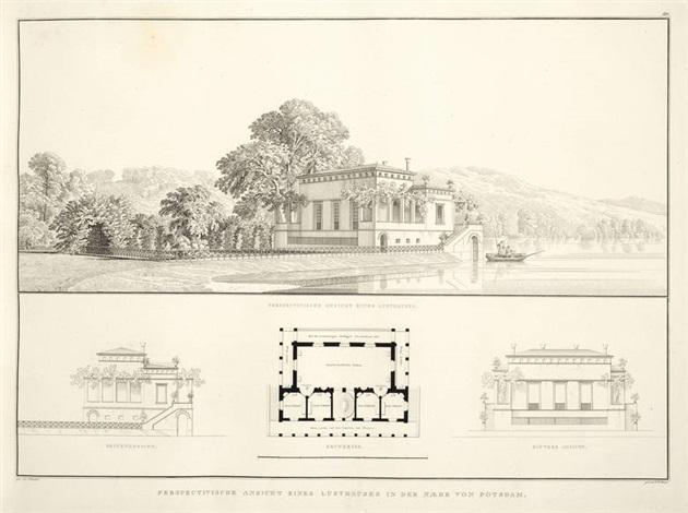 sammlung architectonischer entwürfe von schinkel enthaltend theils werke welche ausgeführt sind theils gegenstände deren ausführung beabsichtigt wurde 1 21 21 22 1819 1834 gedruckt bei duncker und humblot berlin 1834