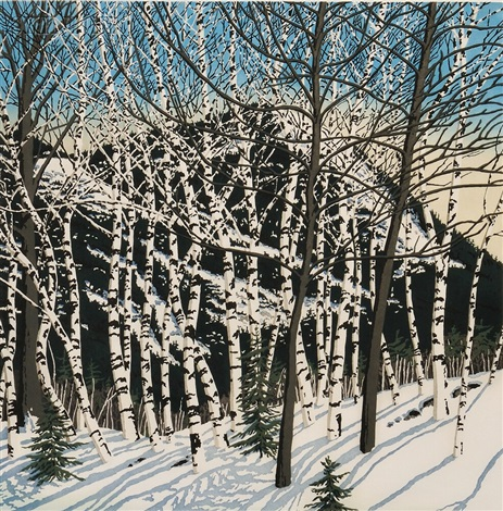 birches by neil welliver
