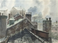 view over the roof tops by john pike