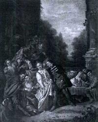 a music party by christoffel lubieniecki