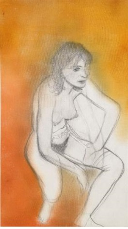 linda by ronald brooks kitaj