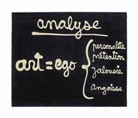 analyse. art = ego by ben