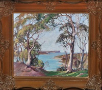north head (from the vicinity of chinaman's beach, australia) by lilias stuart humphreys
