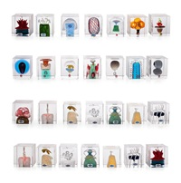 annual cubes (set of 28) by oiva toikka