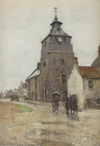 town hall crail by robert weir allan