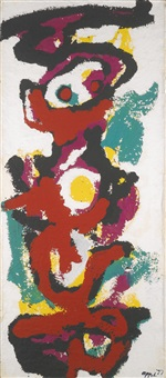 i am a totem by karel appel