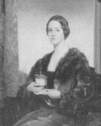 artist's wife holding urn by dewitt mcclellan lockman