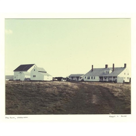 farm on naushon island by robert c ascher