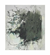 first cypress by joan mitchell