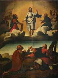 die verklärung christi by andrea (andrea del salerno) sabatini