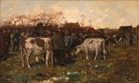 marché à bestiaux by cornelis koppenol
