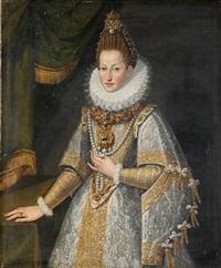 bildnis der königin margarete von spanien (margarita d'austria), erzherzogin von österreich (1584-1611) by spanish school-madrid (17)