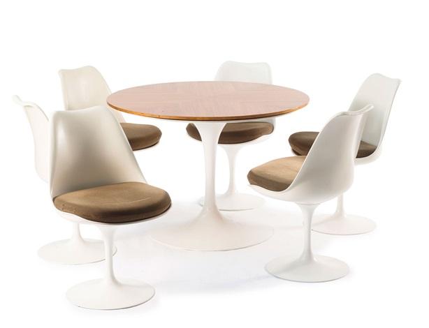 tisch 172173 by eero saarinen on artnet. Black Bedroom Furniture Sets. Home Design Ideas