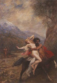 the rape of hippodamea by ferdinand jacques humbert
