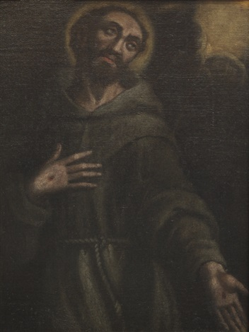 san francesco by girolamo genga