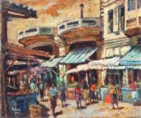 carmel market in tel aviv by jehuda rodan