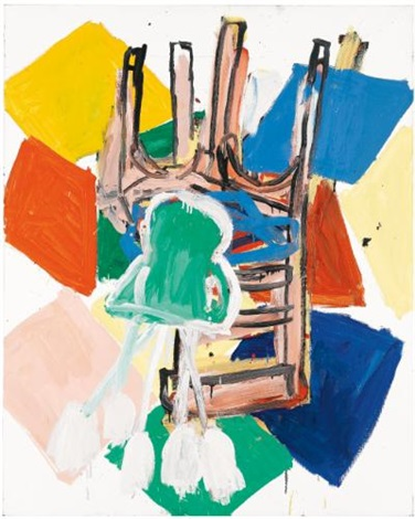 das motiv by georg baselitz