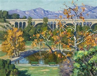colorado bridge, pasadena by tim solliday