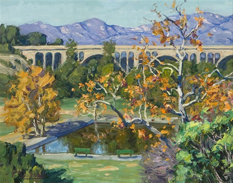 colorado bridge pasadena by tim solliday