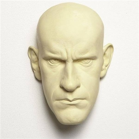 untitled mask maquette by ron mueck