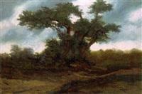 landschaft mit großem baum by jacques samu kende