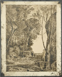 le petit berger by jean-baptiste-camille corot