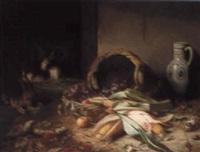harvest still life by elselina agenita cornelia röder