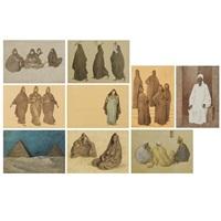 impresiones de egipto (impressions of egypt) (b. 74-83) (10 works) by francisco zúñiga