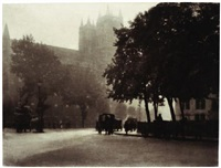 autumn haze, westminster by charles job