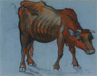 the cow by ragheb ayad
