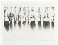 five paintbrushes by jim dine